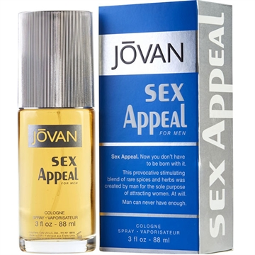 Jovan Sex Appeal For Men Cologne Spray 88ml
