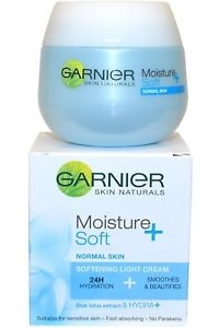 Garnier Garnier Skin Naturals Moisture+ Soft Softening Light Cream 24h 50ml Normal Skin Smoothes and Beautifies