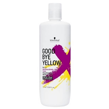 Schwarzkopf Goodbye Yellow Shampoo 1L
