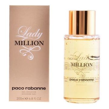 Duschtvål Lady Million Paco Rabanne (200 ml)