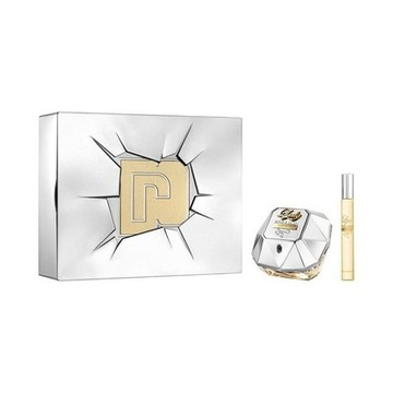 Parfymset Damer Lady Million Lucky Paco Rabanne (2 pcs)