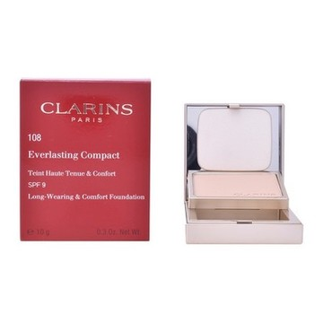 Compact Powders Everlasting Clarins 109 - wheat