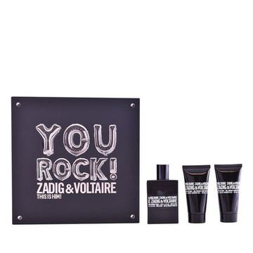 Parfymset Herrar This Is Him! You Rock! Zadig & Voltaire (3 pcs)
