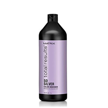Schampo som neutraliserar färgen Total Results So Silver Matrix (1000 ml)