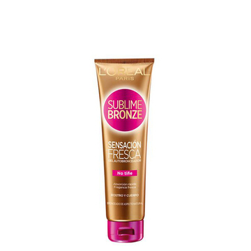 Kroppslotion som ger ett solbränt utseende Sublime Bronze L'Oreal Make Up (150 ml)