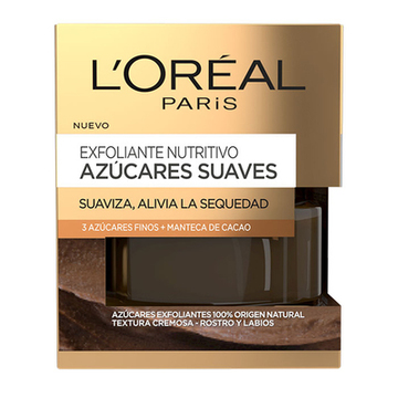 Näringsskrubb Azúcares Suaves L'Oreal Make Up (50 ml)