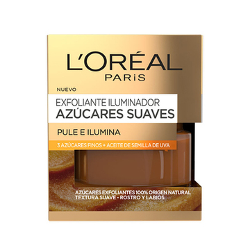Ljus skrubb Azúcares Suaves L'Oreal Make Up (50 ml)