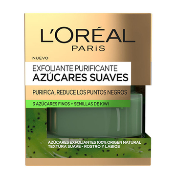 Rengöring skrubba Azúcares Suaves L'Oreal Make Up (50 ml)