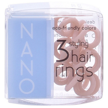 Hårband Nano Invisibobble Crystal Clear Hair Rings