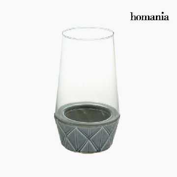 Kandelaber Keramik Glas - New York Samling by Homania