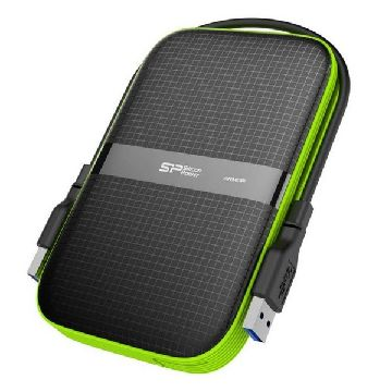 "Extern Hårddisk Silicon Power A60 2.5"" USB 3.0 1 TB Anti-shock Waterproof Svart"