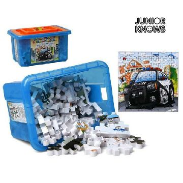 Pussel med Box Container Junior Knows 9902
