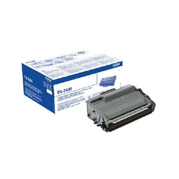 Original Toner Brother TN-3430 CCITOR0467 Svart