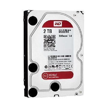 "Hårddisk Western Digital Red WD20EFRX 3.5"" 2 TB Sata III 5400 rpm Buffer 64 mb"