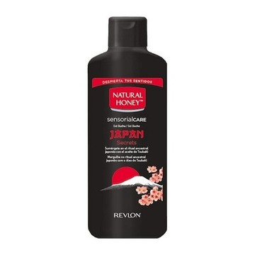 Duschtvål Japan Secrets Natural Honey (650 ml)