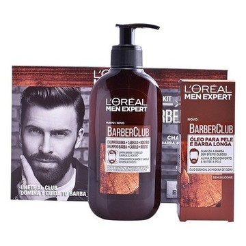Kosmetikset Herrar Expert Barber Club L'Oreal Make Up (2 pcs)