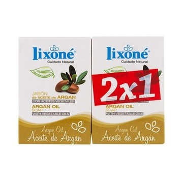Tvålset Argan Oil Lixoné (2 pcs)