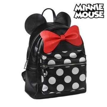 Ryggsäck Casual Minnie Mouse 75599 Svart