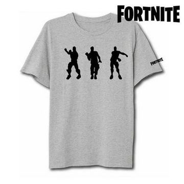 Barn T-shirt med kortärm Fortnite 75062 Grå
