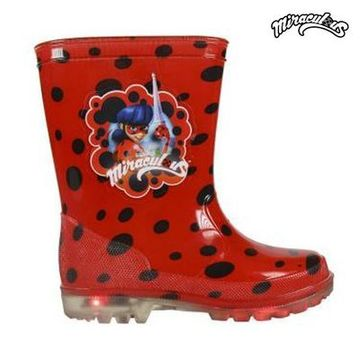 Children's Water Boots with LEDs Lady Bug 72767 28