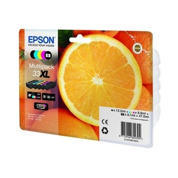 Original Bläckpatron Epson T33XL (5 pcs) Multicolour