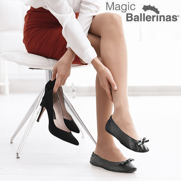 Ballerinaskor Magic Ballerinas  Svart,S