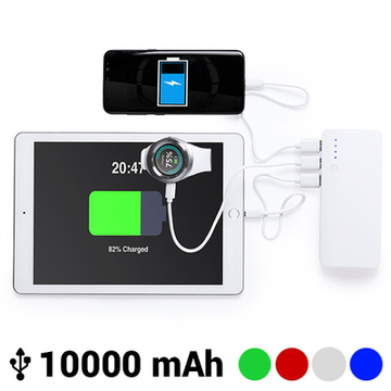 Power bank med trippel USB 10000 mAh 145779