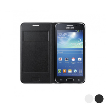 Flip Wallet for Galaxy Core LTE G386F Samsung