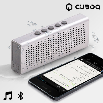 Högtalare Bluetooth Waterproof CuboQ Metal