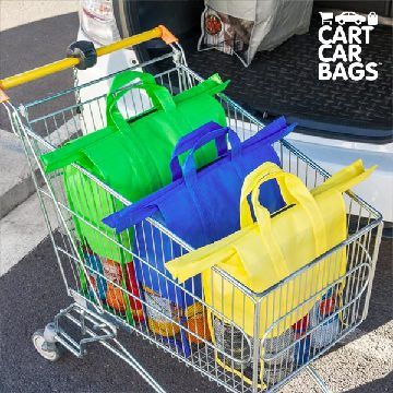Shoppingkassar Cart Car Bags (4 st)