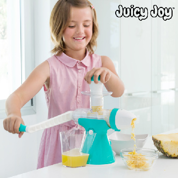 Juice- och glassmaskin med vev Juicy Joy