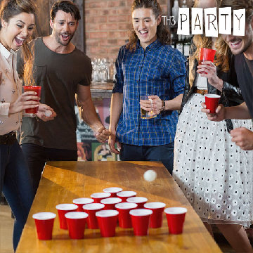 Dryckesspel Pong Th3 Party