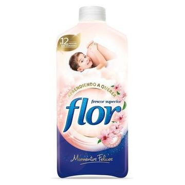 Sköljmedelkoncentrat Flor Happy Moments 1,4 l (64 tvättar)