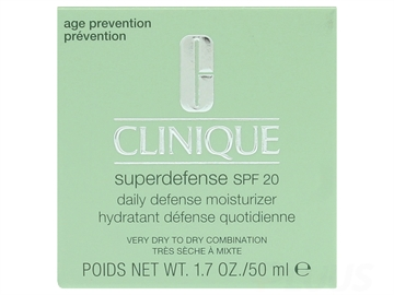 Clinique Superdefense SPF20 Daily Defense Moisturizer 50 ml