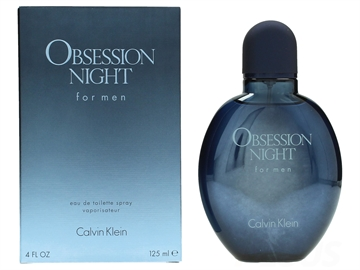 Calvin Klein Obsession Night For Men Edt Spray 125ml