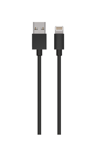 Lighting Charging Cable for iPhone 1M Black