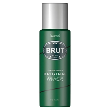 Brut 200ml Deodorant Spray Original