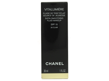Chanel Vitalumiere Satin Smoothing Fluid SPF15 30ml