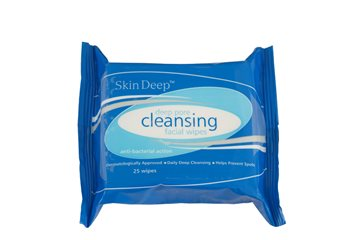 Skin Deep Cleansing Wipes 25