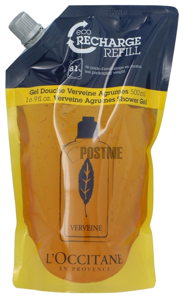 L'Occitane Verbena Refill Shower Gel Citrus 500ml
