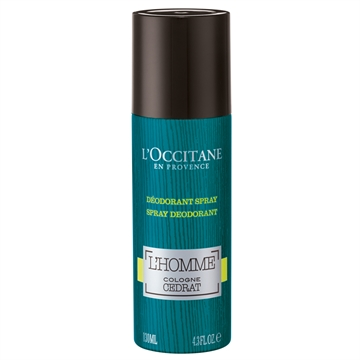 L'Occitane L'Homme Cologne Cedrat Deodorant Spray 130ml
