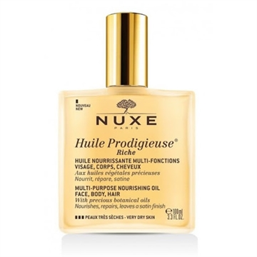 Nuxe Multi-Purpose Nourishing Oil 100ml Very Dry Skin Face, Body, Hair