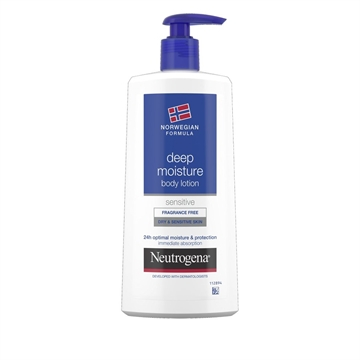 Neutrogena Body Lotion 400 ml Dry And Sensitive Skin