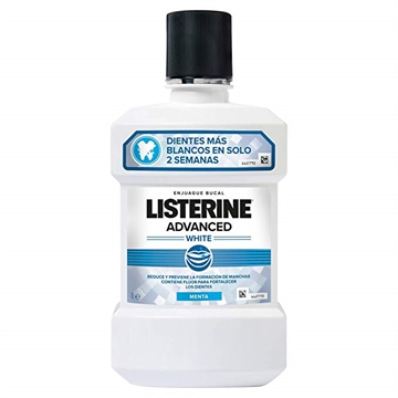 Listerine Mouthwash - Advanced White 500 ml