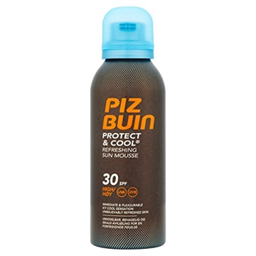 Piz Buin Protect & Cool Refreshing Sun Mousse SPF 30 150 ml