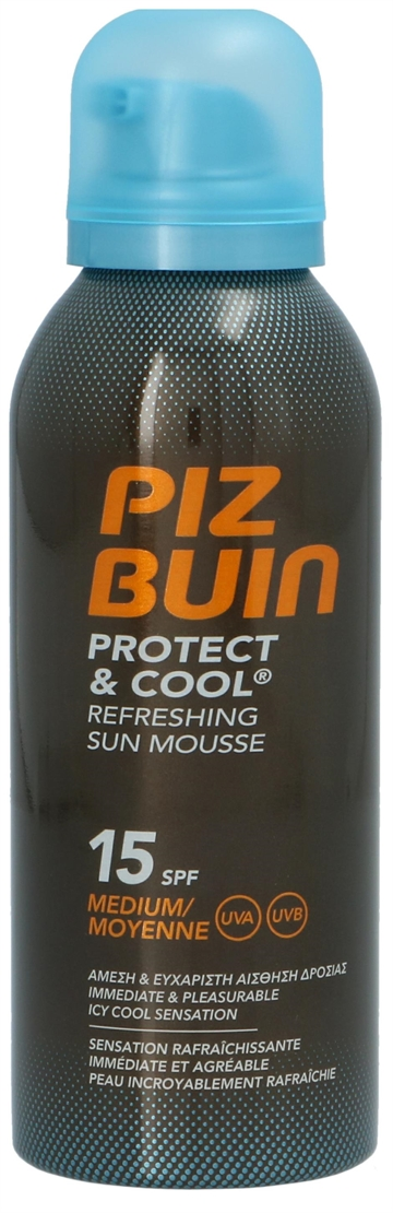 Piz  Buin  Protect  &  Cool  Sun  Mousse  150ml  SPF15