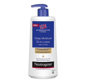 Neutrogena Oil In Lotion 250 ml Deep Moisture