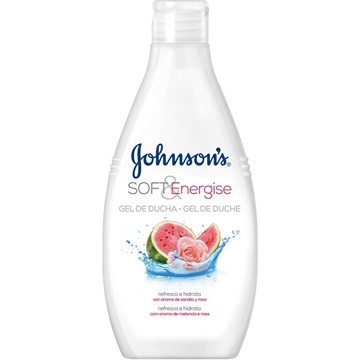 johnson's gel 750 ml Soft & Energizer watermelon and rose