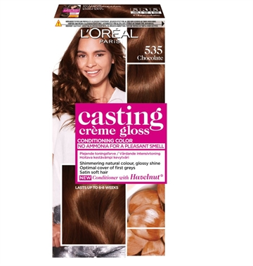 L'ORÉAL  Casting Creme Gloss 535 Chocolate  180ml