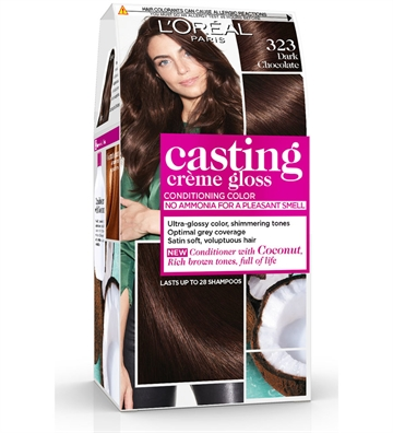 L'ORÉAL  Casting Creme Gloss 323 Dark Chocolate  180ml